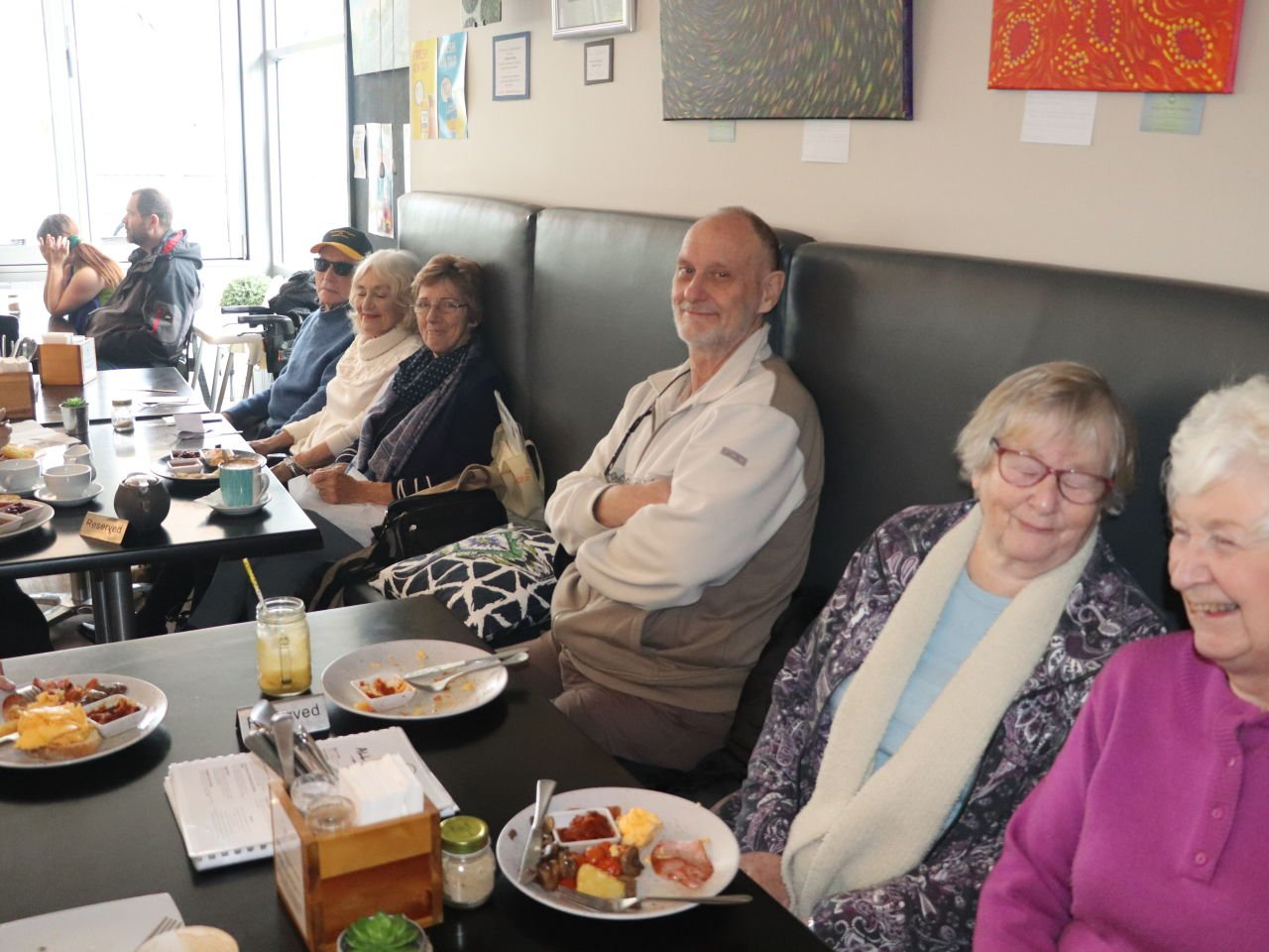 22nd of June 2019 Breakfast at the Hummingbird Cafe Mandurah