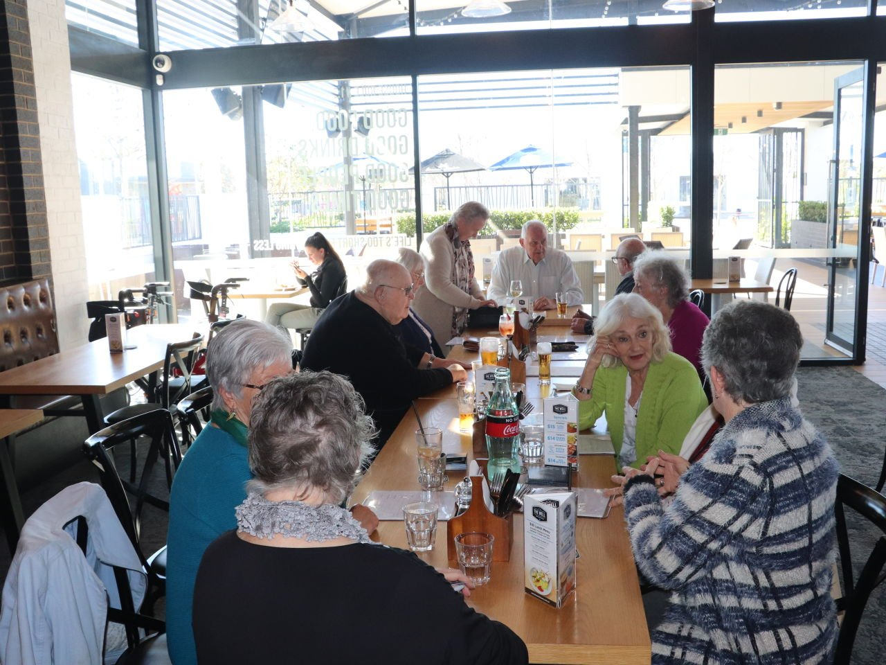 8th of July 2019 Regular Monday outing - Lunch at the Well in Wellard