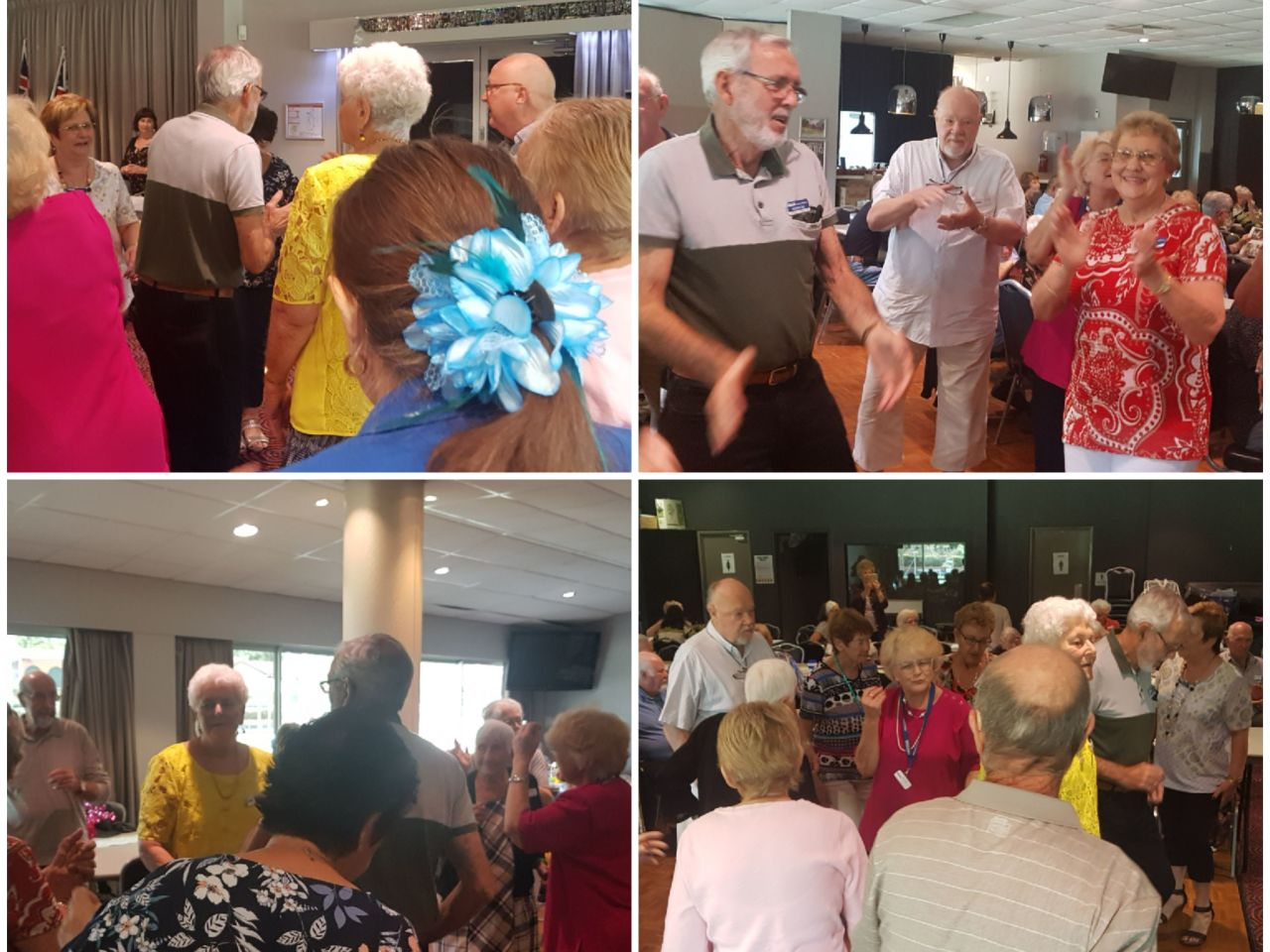 Singing, dancing, laughing and enjoying our guest entertainer Jay Turner. Our Calamvale members know how to live life and have fun fun fun.