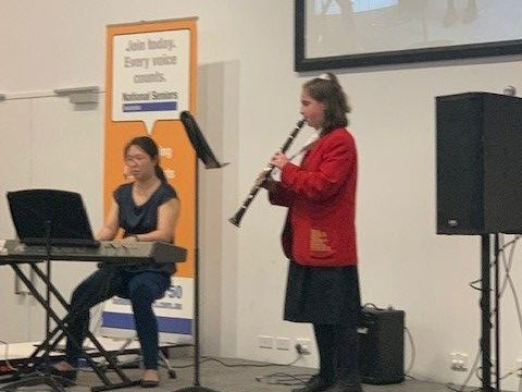 St Johns Anglican College Mezzo Voce performer