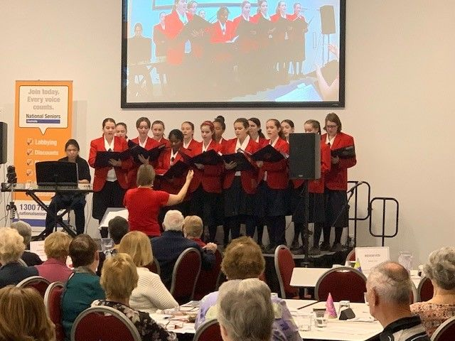 St Johns Anglican College Mezzo Voce performers