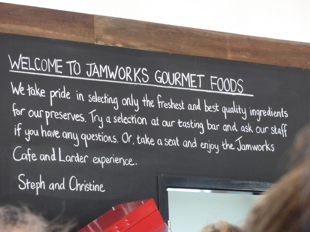 After our Law Dogs experience we had lunch at JamWorks.  Of course there was more sampling to be done.