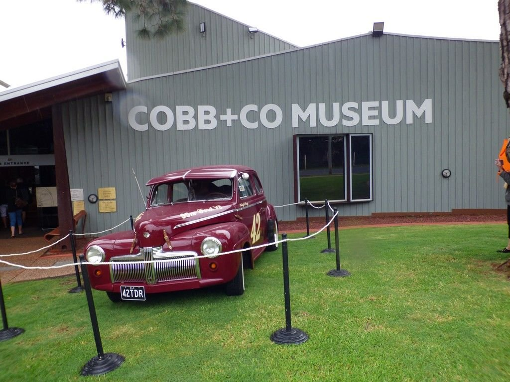 On our way home we stopped off at the Cobb and Co Museum in Toowoomba.