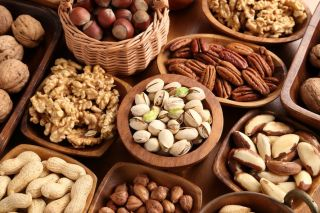 Dietitian Belinda Neville is crazy about nuts