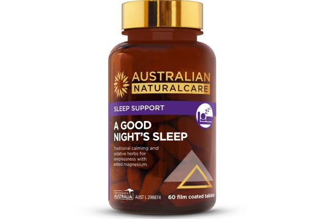 Enjoy a good night's sleep with Australian NaturalCare