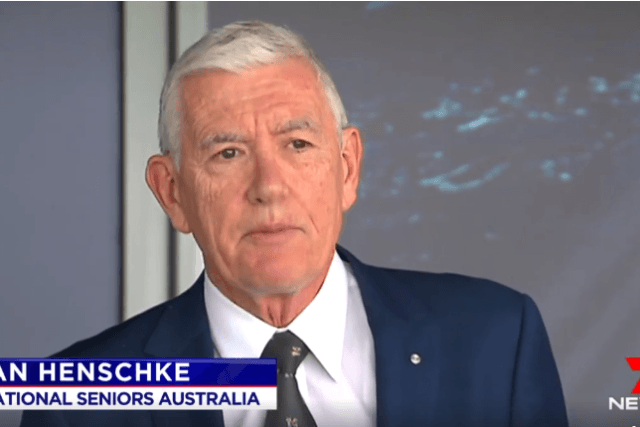 Watch Ian Henschke discuss Anthony Albanese's latest comments on retirement income
