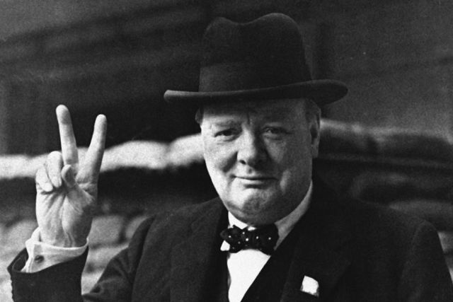 Lie back and think of Churchill